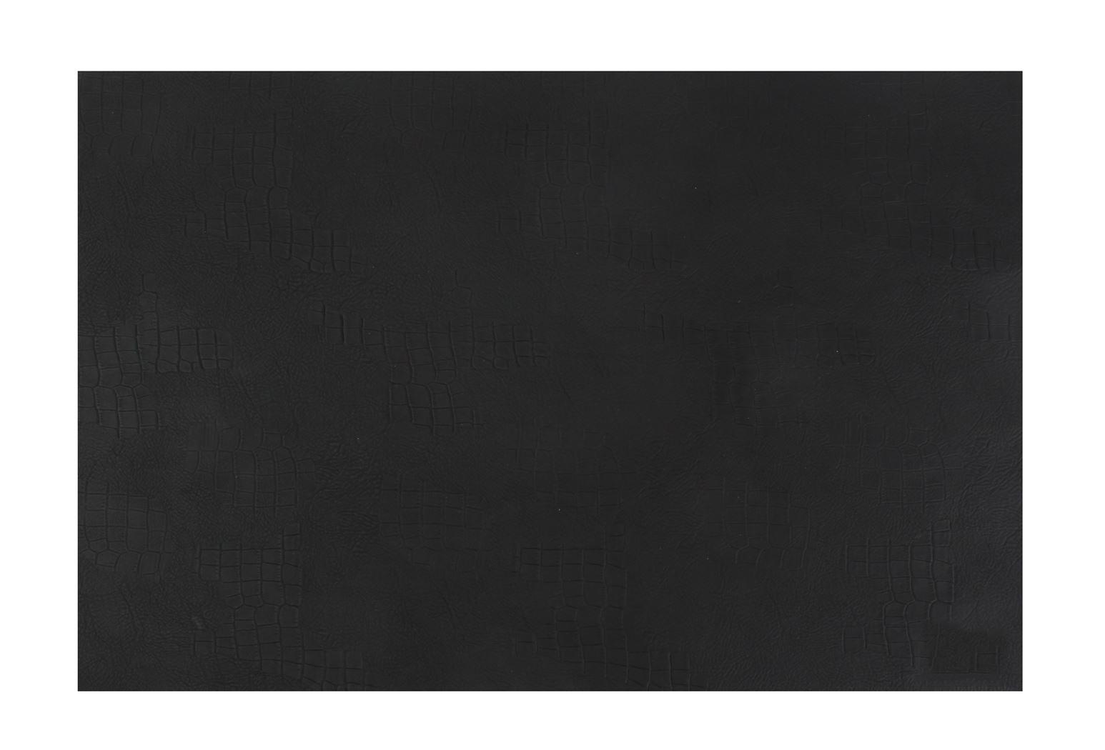 placemat lederlook zwart