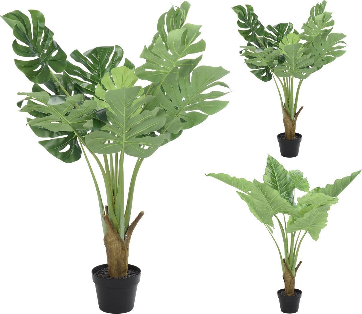 kunststof plant in pot