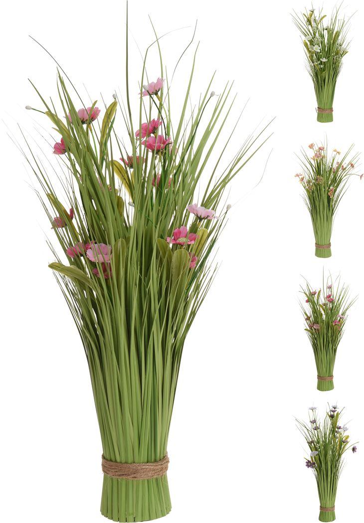 plant gras met bloemen (4ass.)