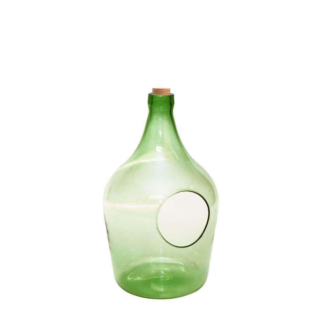 plant terrarium - open fles