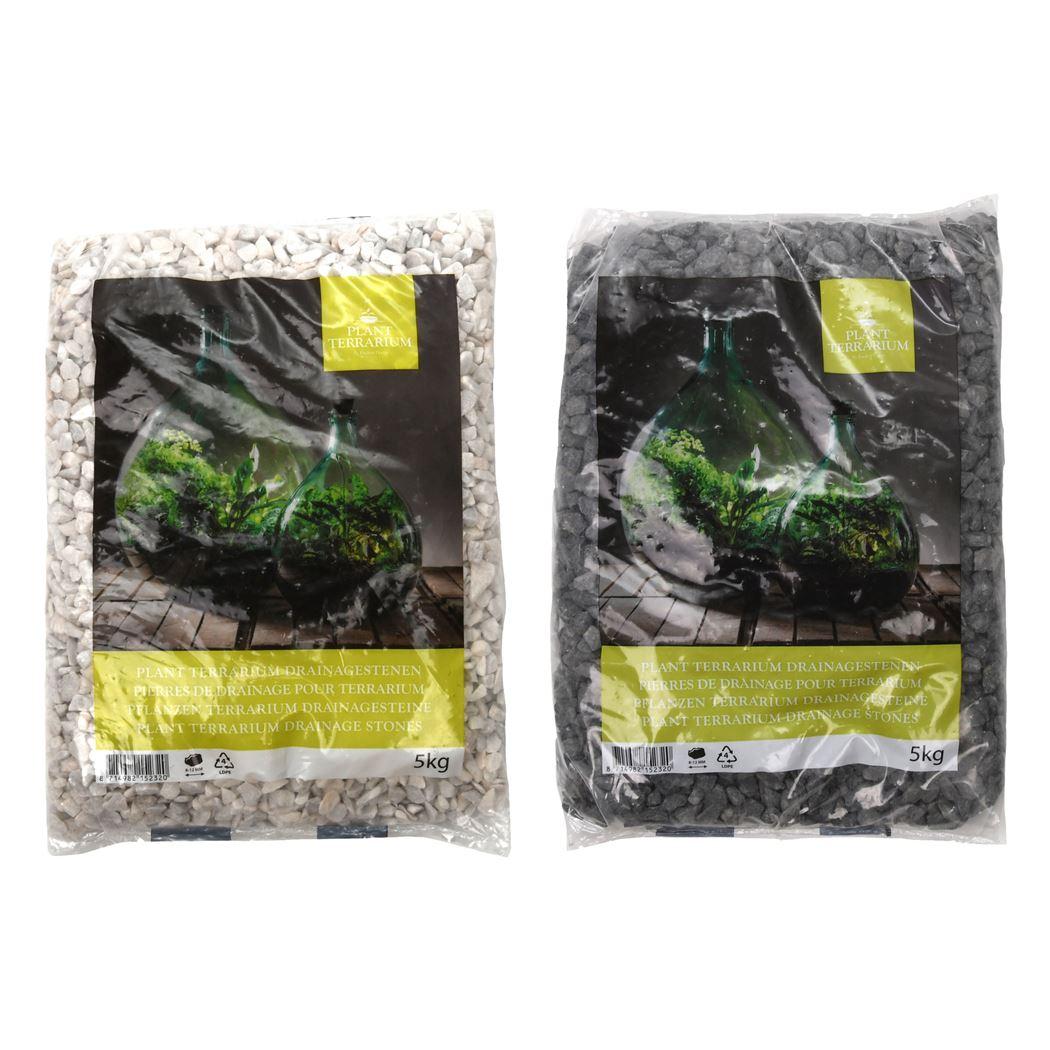 plant terrarium - plant terrarium drainagestenen (ass.)