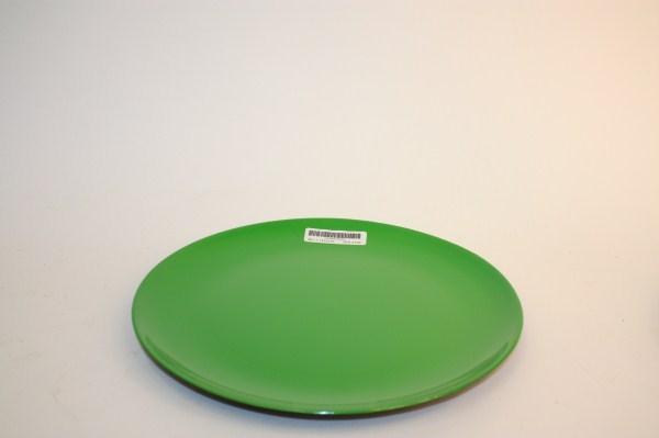 plastic plate charroux green