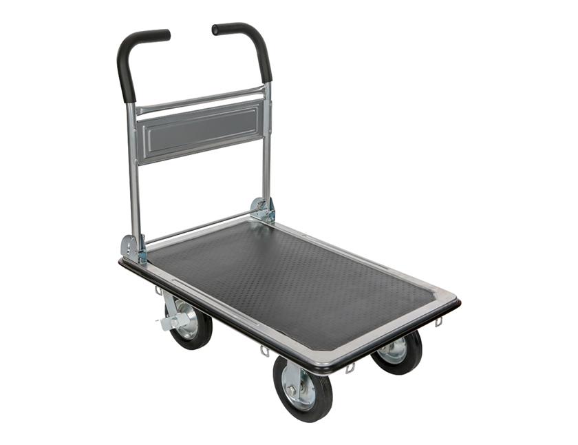 plateauwagen in staal