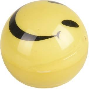 poezenspeelgoed wobbler flashbal geel