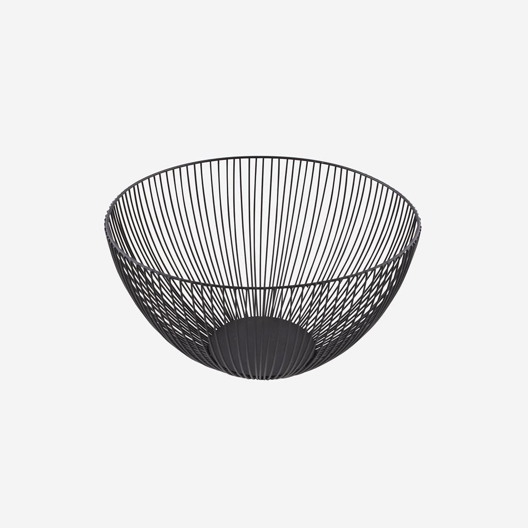 point-virgule wire mand zwart