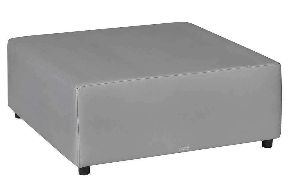 pol bello lounge carbon/antraciet silvertex hocker