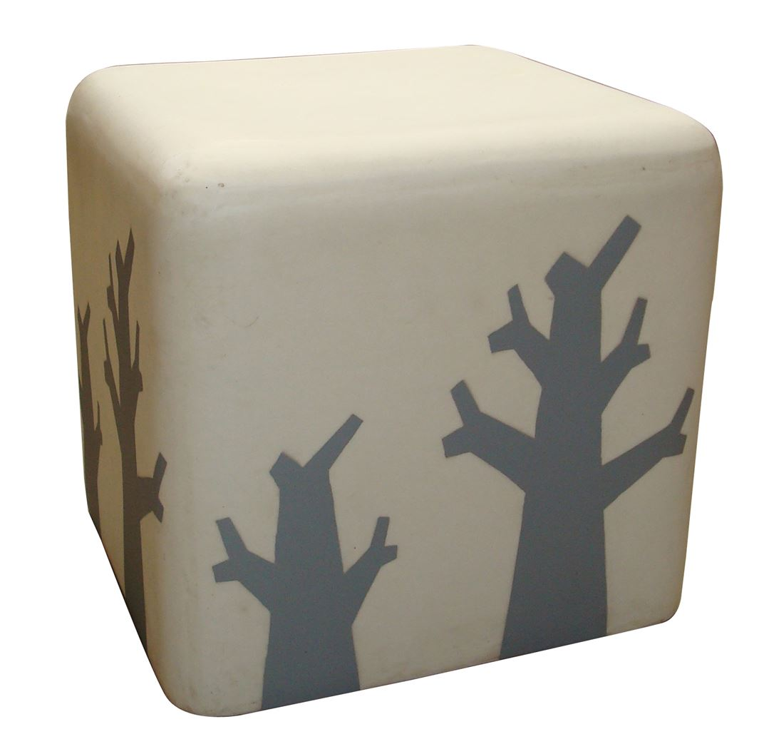 pol lamp stool square eco/tree