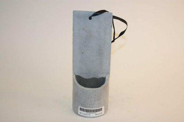 poly planter light grey