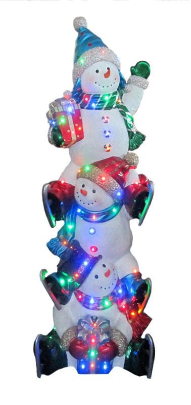 poly sneeuwman toren xl