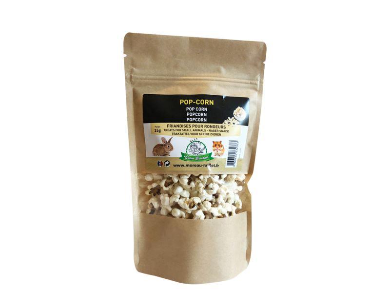 popcorn snacks voor kleine huisdieren