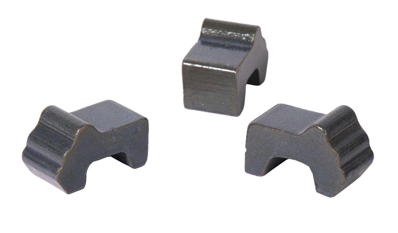 potfeet antique grey box (3sts)