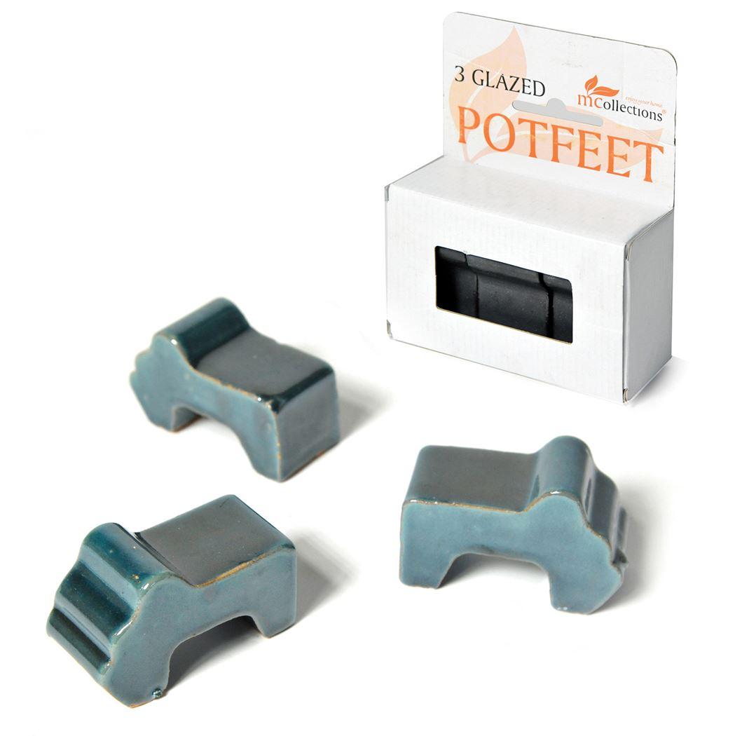potfeet celadon box (3sts)