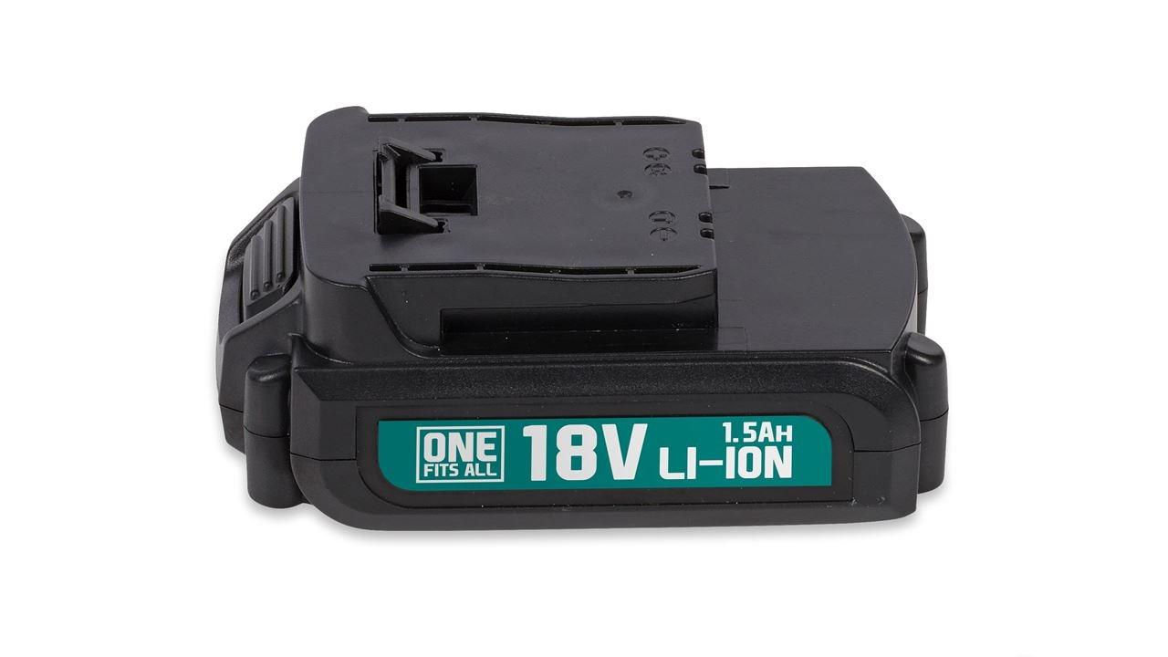 powerplus batterij 18v li-ion 1.5ah