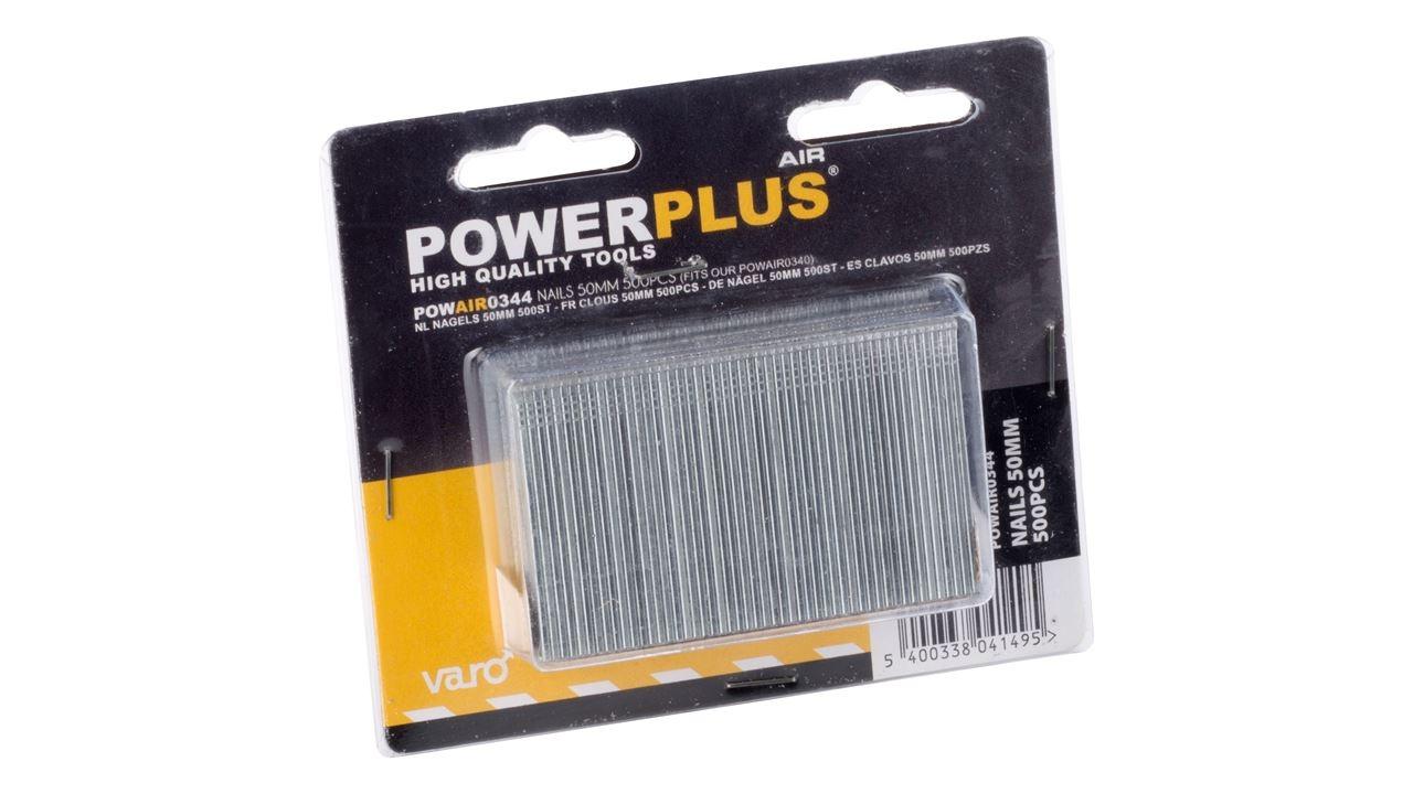 powerplus nagels (500sts)