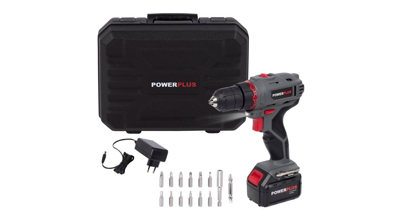 powerplus schroefboormachine 14.4v li-ion