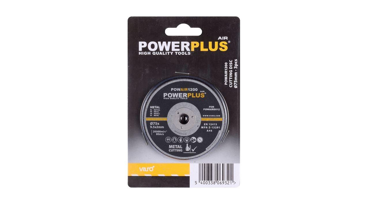 powerplus snijschijf (3sts)