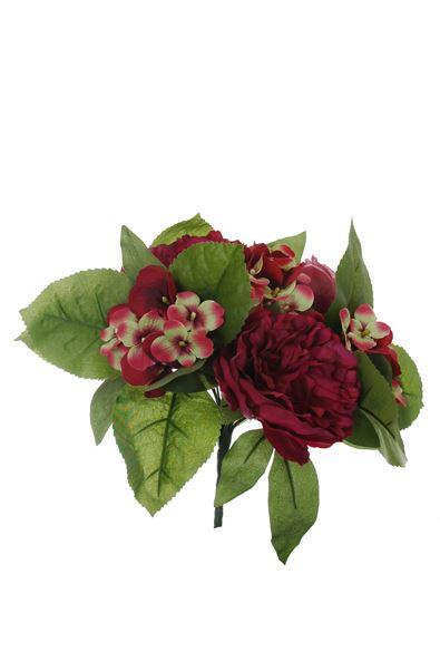 pure royal peony/rose bud/hydrangea bush x11 beauty