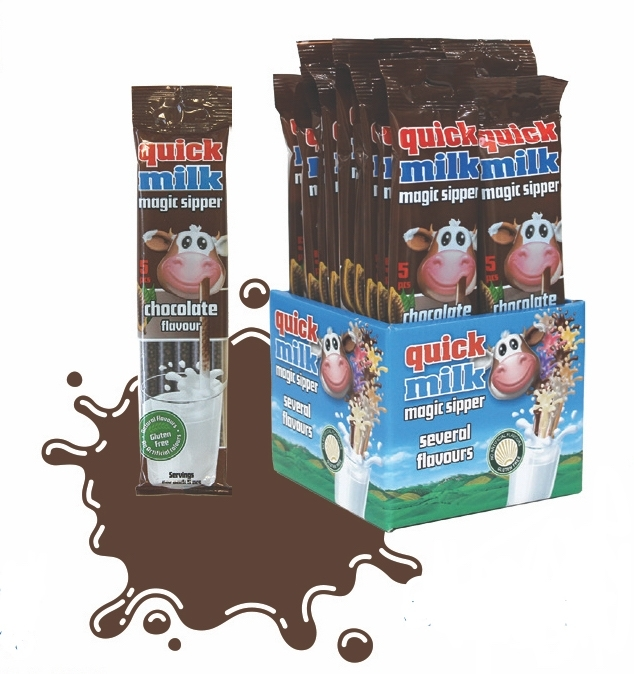 quick milk chocolate (5 rietjes)