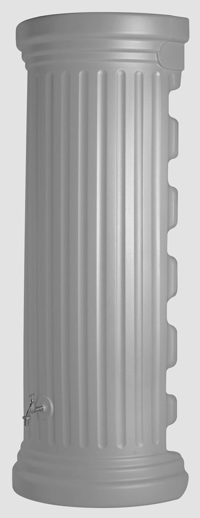 regenton muurmodem romeinse kolom grijs zonder kraan