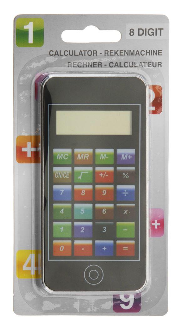 rekenmachine touchscreen