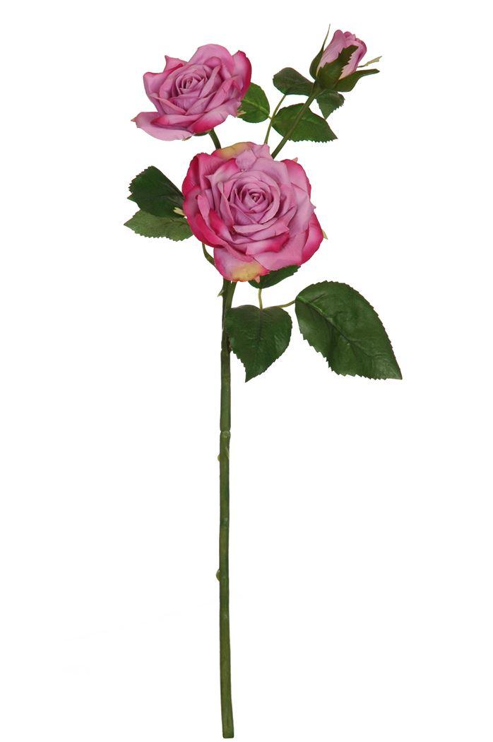 rose spray x3 lavender
