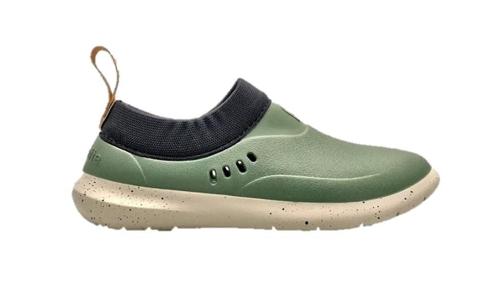rouchette schoen mix groen
