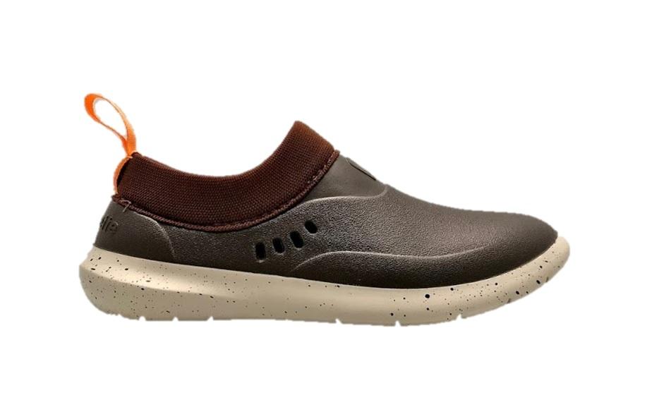 rouchette schoen mix bruin