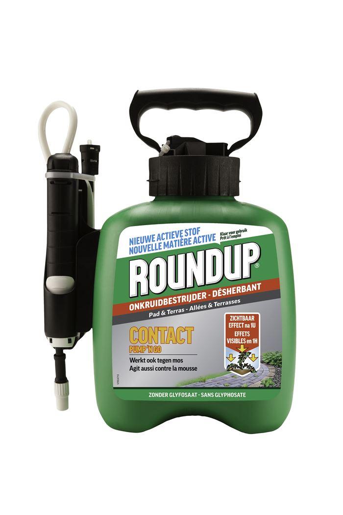 roundup contact pad & terras pump 'n go