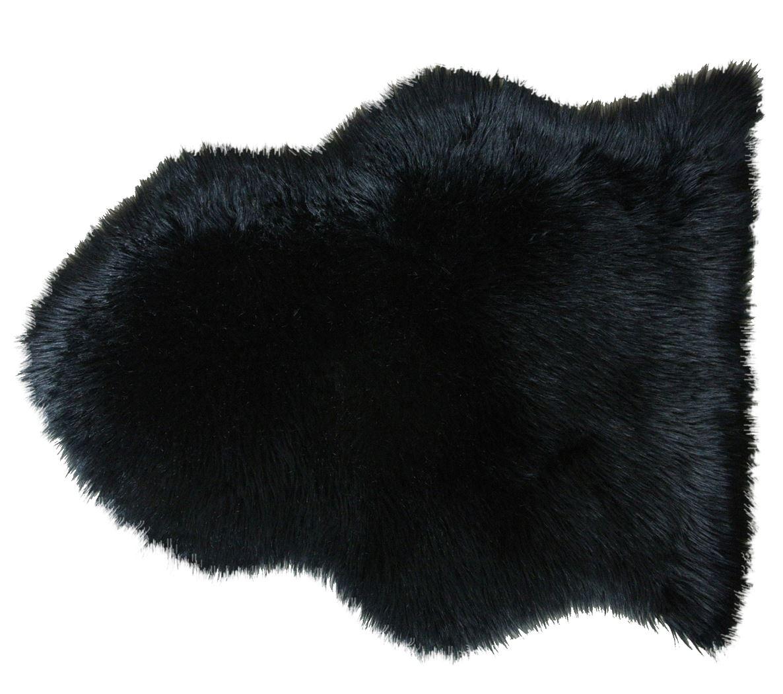 schapenvacht warm zwart