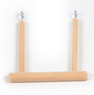 schommel open in hout kanarie