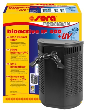 sera binnenfilter bioactive if 400 + uv