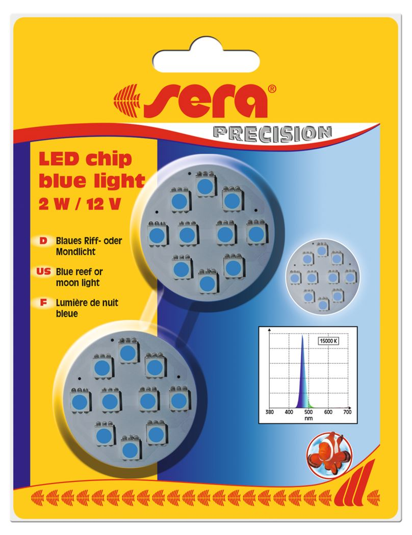 sera led chip blue light (2sts)