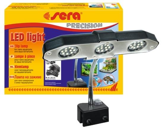 sera led light voor aquarium en terrarium