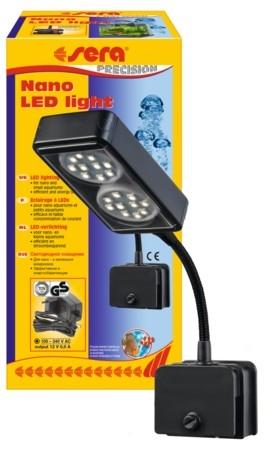 sera nano led light voor aquarium 16 ltr.