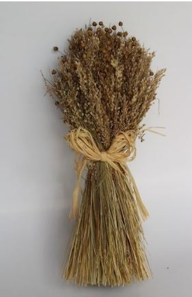 sheaf of mixed grass natural large