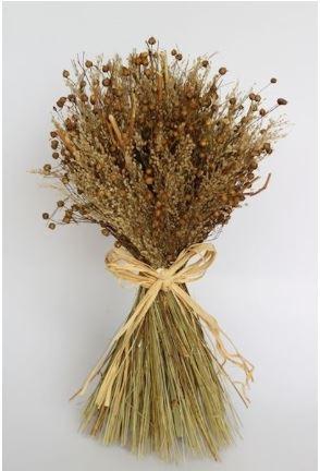 sheaf of mixed grass natural medium