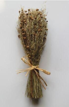 sheaf of mixed grass natural small
