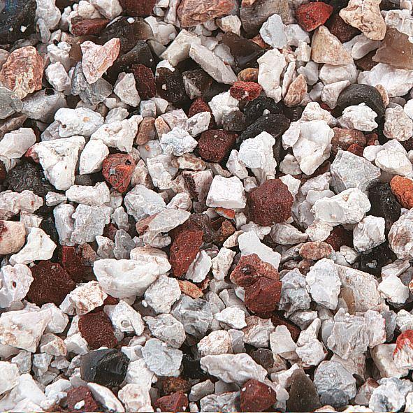 siersplit - bruin/wit natuur 6-8mm