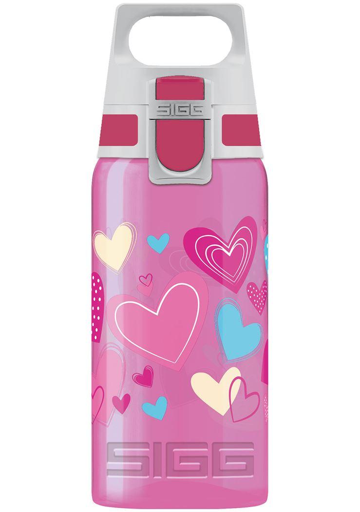 sigg drinkfles viva one hearts