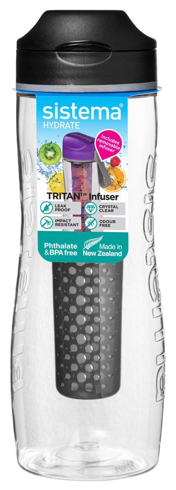 sistema hydrate drinkfles tritan infuser (6ass.)