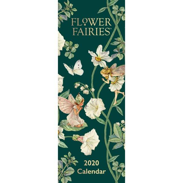 slimline kalender 2020 flower fairies ptc