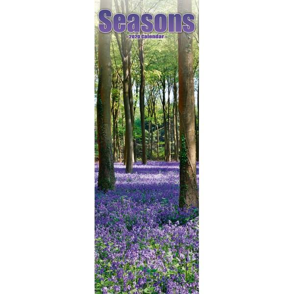 slimline kalender 2020 seasons as