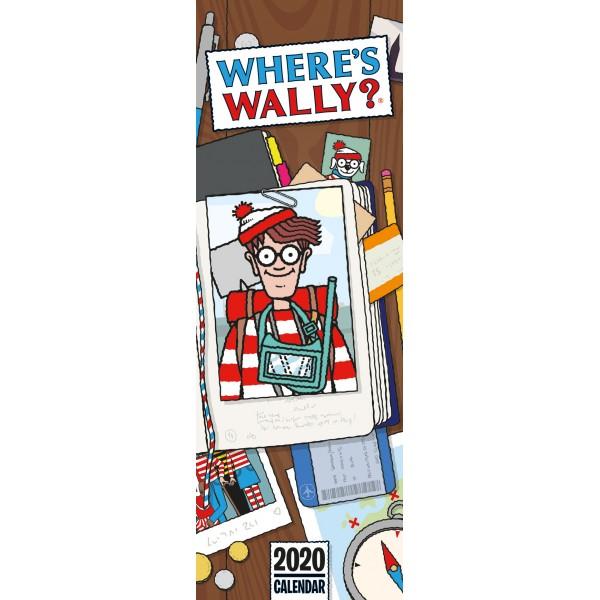 slimline kalender 2020 wheres wally crs