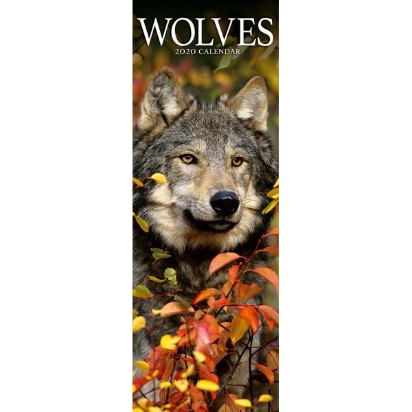 slimline kalender 2020 wolves as