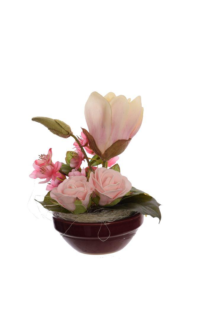 small mixed arrangement in pot assorted
