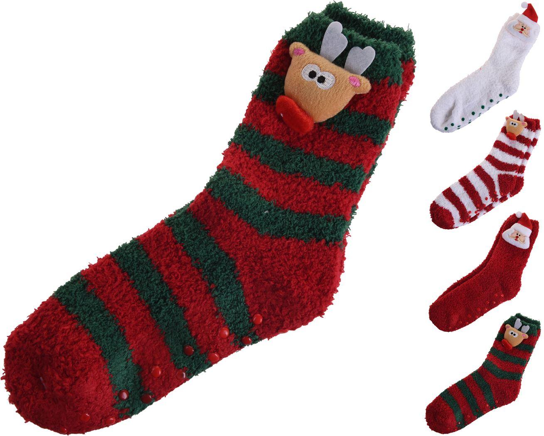 sokken kerst (4ass.)