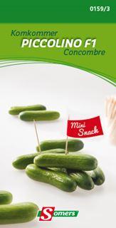 somers komkommer mini piccolino f1