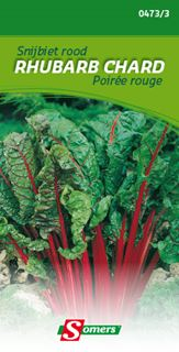 somers snijbiet  rood rhubarb chard