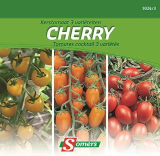 somers tomaat cherry 3 varieteiten