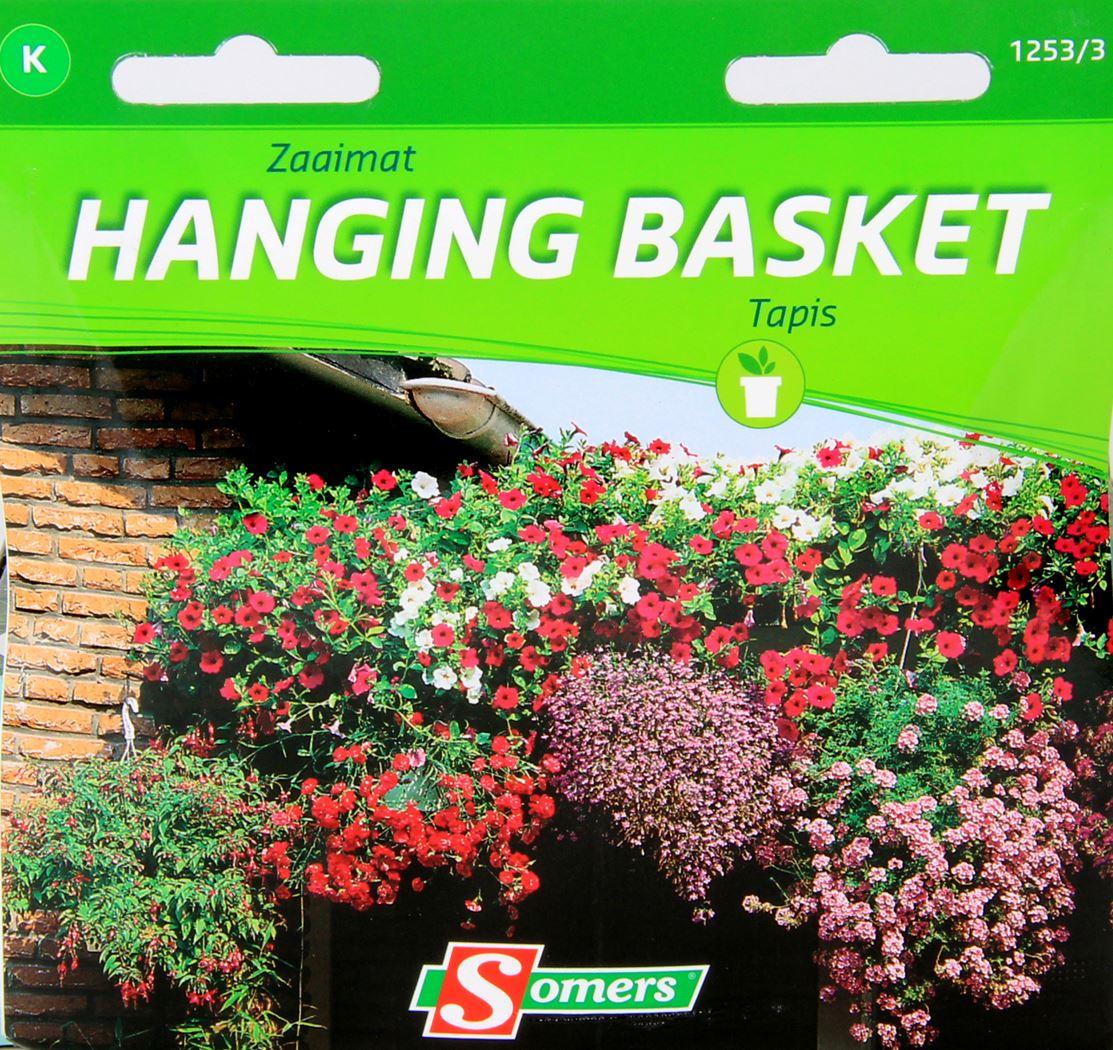 somers zaaimat hanging basket